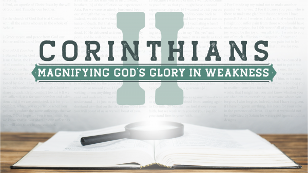 The God of All Comfort - 2 Corinthians 1:1-7 Image